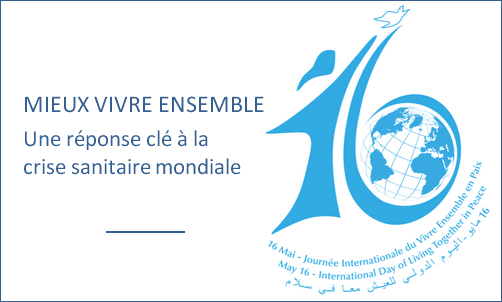 Journée Internationale du Vivre Ensemble en Paix du 16 mai
